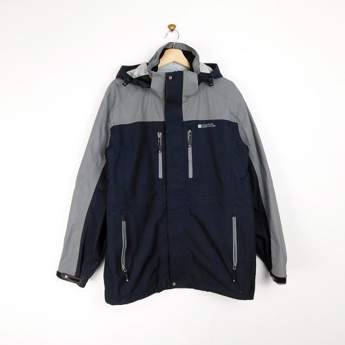 cazadora gris impermeable Mountain Warehouse